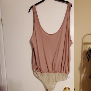 Free people intimately body suit tank top